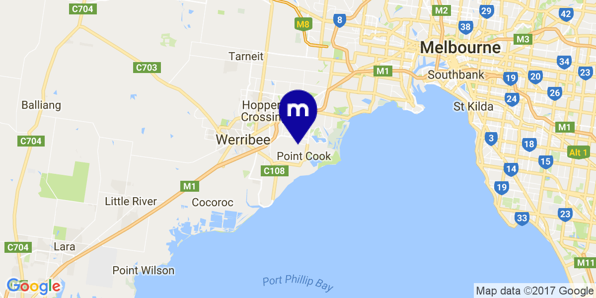 Google Map of Maccs, Australia
